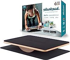 Plankpad Fitnesstrainer en balansbord met app voor iOS en Android – innovatieve plank buikspiertrainer