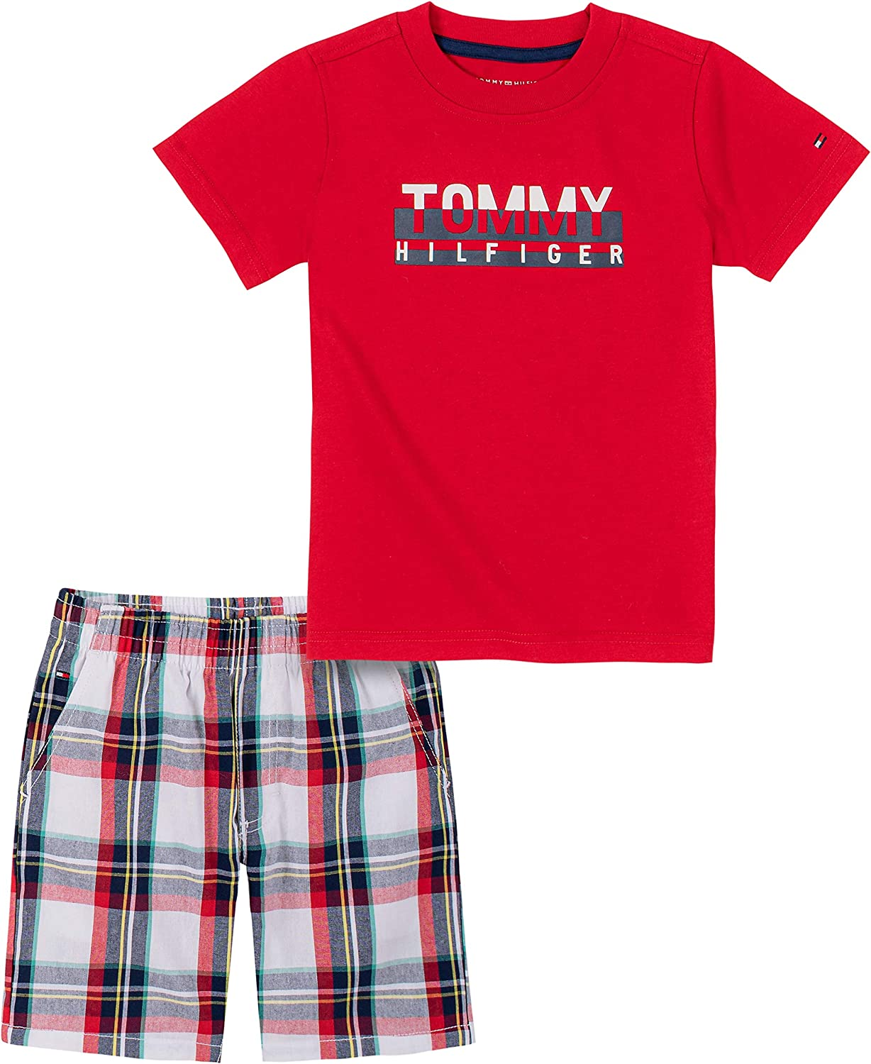 Tommy Hilfiger Regular store boys 2 OFFicial store Shorts Set Pieces