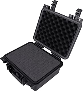 CASEMATIX Studio Microphone Case Compatible With Blue Ember XLR Studio Condenser Microphone with Mount and Accessories – INCLUDES WATERPROOF CASE ONLY