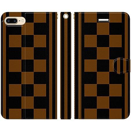 ブレインズ iPhone8Plus 7Plus 6sPlus 6Plus 手帳型 ケース カバー 勝負服 34 ブレインズ 競馬 競走馬 馬