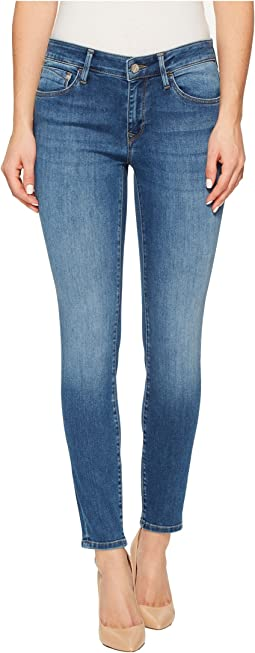"Adriana Midrise Ankle Super Skinny 27"" in Medium Blue"