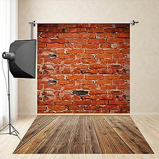 FiVan™-Sp 150x250cm desgaste fondo de la pared de ladrillo rojo apoyos de la fotografía los niños photography estudio de fotografía de tela de seda de imitación FD-1306
