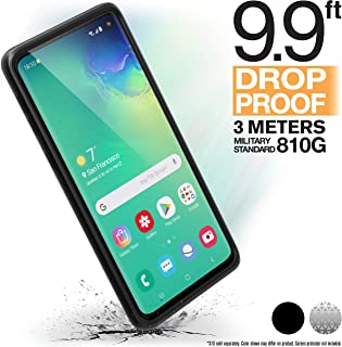Catalyst Case Compatible with Samsung Galaxy S10 Case Military Impact Resistant, Shock Proof, Drop Proof 9.9ft, Impact Truss Cushioning System, Raised Bezels, Lanyard Stealth Black