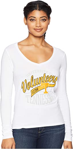 Tennessee Volunteers Long Sleeve V-Neck Tee