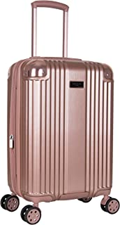 Kenneth Cole New York Tribeca 20-inch Lightweight Hardside Expandable 8-Wheel Spinner TSA Lock Carry-On Suitcase, Rose Gold