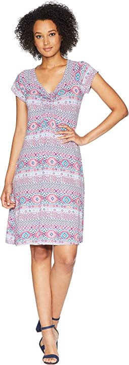 Stamped Geo Emma Dress