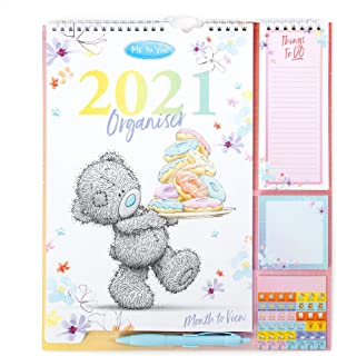 $28 » Me To You Household Planner 2021 with Calendar, Stickers, Shopping/Things to Do List & Sticky Notes
