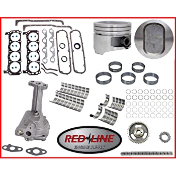 1977-1982 Ford 351 351M Modified 5.8L V8 Stage One High Performance Master Engine Rebuild Kit FITS