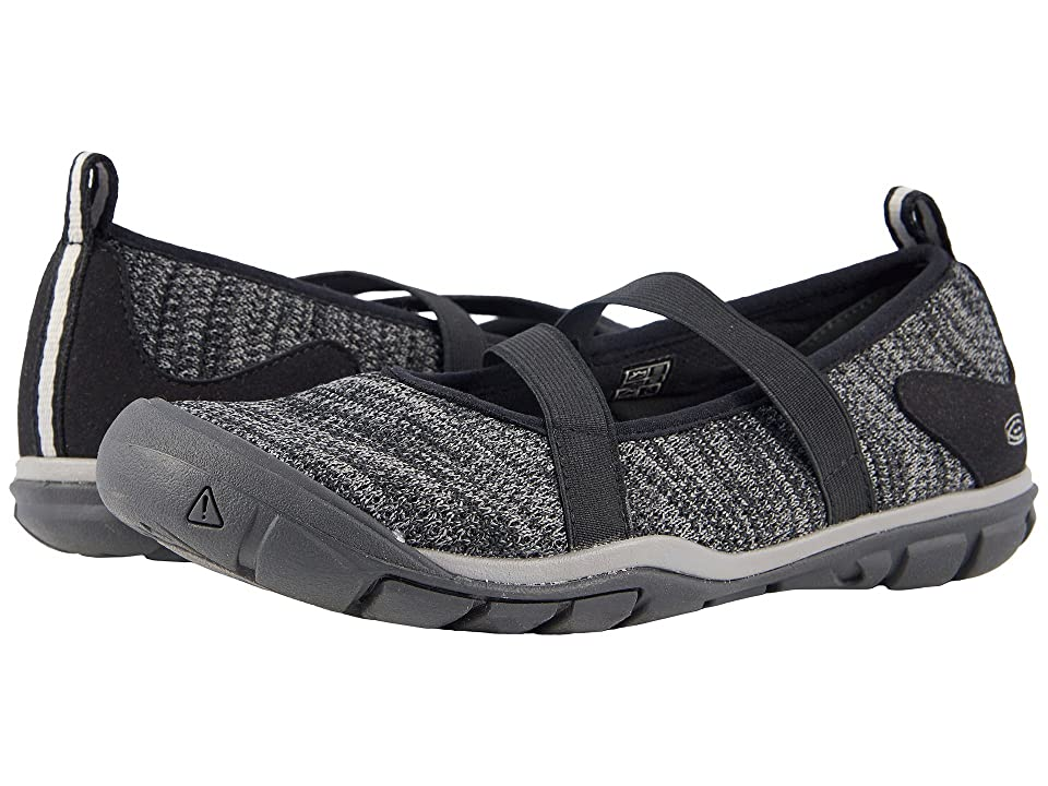 Keen Hush Knit MJ (Black/Gargoyle) Women