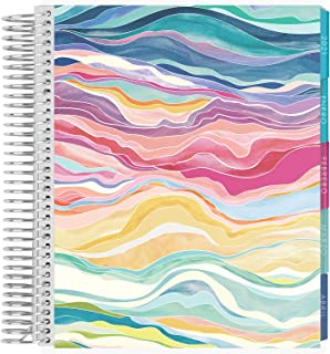$26 » Erin Condren 12 - Month 2021 Spanish Coiled Life Planner 7x9 (January - December 2021) - Layers Colorful Cover, Vertical L...
