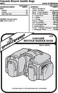 Cascade Bicycle Saddlebags (201GP) Sewing Pattern