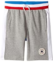 Converse Kids - Color Blocked Shorts (Toddler/Little Kids)