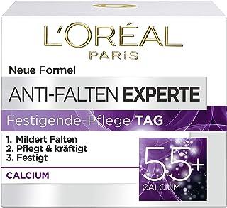 L'Oréal Paris Anti-Falten Experte Tagescreme 55+, Anti-Age Feuchtigkeitspflege mit..
