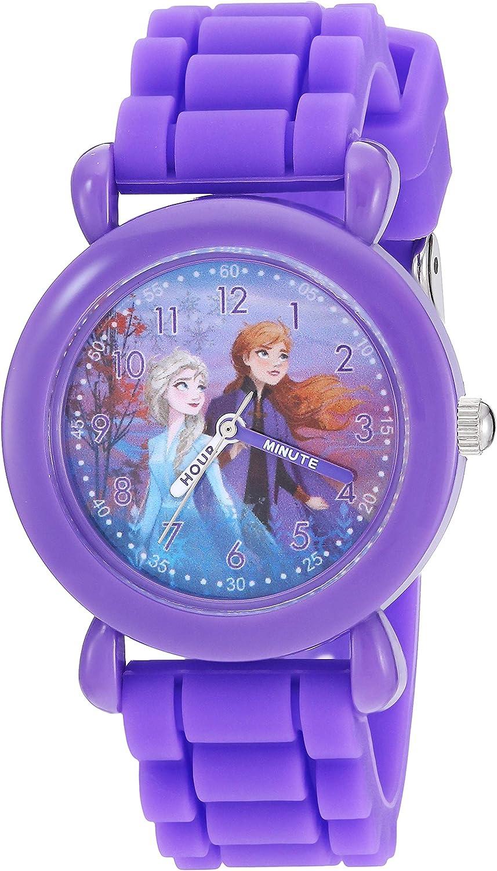 Disney Girls' Frozen 2 Analog Silicone with Quartz Luxury goods Strap Watch Recommendation
