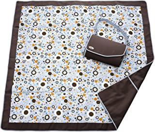 JJ Cole Collections All-Purpose Blanket, Cocoa Bubble (Discontinued by Manufacturer)