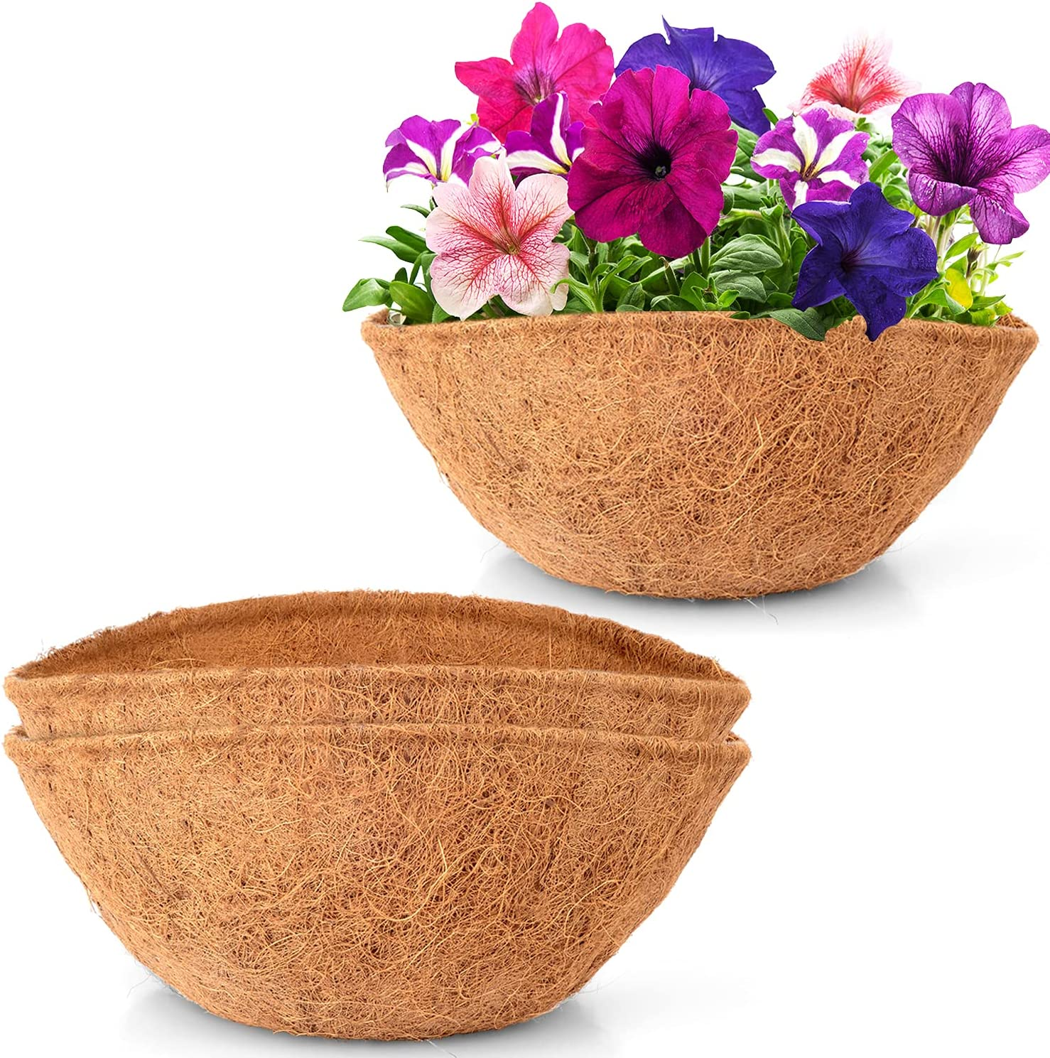 LAVEVE Coco Coir Liner Replacement specialty shop for Plant Basket Hanging 2 Free shipping on posting reviews P