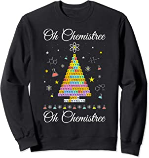 Oh Chemistree Colorful Periodic Table Elements Chemistry Sweatshirt