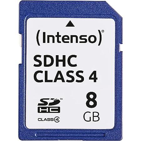 Intenso Sdhc 8gb Class 4 Speicherkarte Blau Computer Zubehör