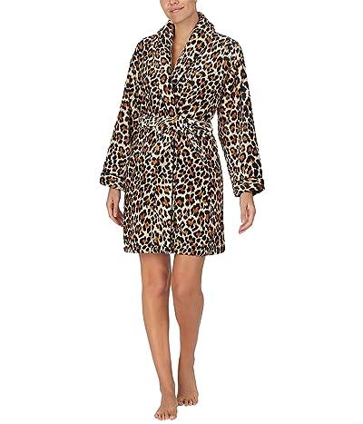 Kate Spade New York Chenille Wrap Robe (Leopard) Women
