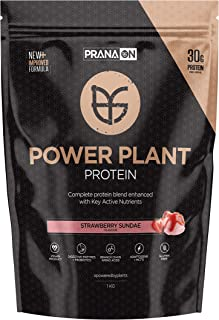 Prana ON Power Plant Protein, Strawberry Sundae, 1 kilograms