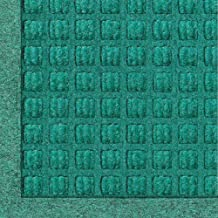 WaterHog Fashion Commercial-Grade Entrance Mat, Indoor/Outdoor Charcoal Floor Mat 3' Length x 2' Width, Aquamarine by M+A Matting