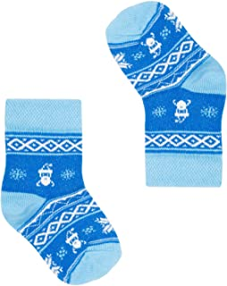 FAVES. Socks&Friends, Santa Claus Calcetines de bebé en talla 20-25 coloridos alegres divertidos calcetines de algodón