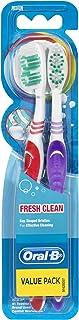 Oral-B Fresh Clean Medium 2 Pack