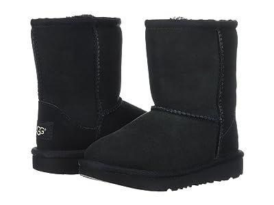 UGG Kids Classic II (Toddler/Little Kid) (Black) Kids Shoes