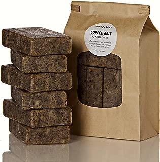 SIMPLICI Coffee Grit bar soap Value Bag (6 Bars)