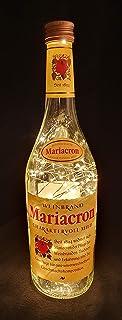 Mariacron Weinbrand - Flaschenlampe Lampe mit 80 LEDs Warmweiß Upcycling Geschenk Idee