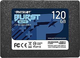 "SSD PATRIOT BURST 120GB 2,5"" SATA 3 - PBE120GS25SSDR"