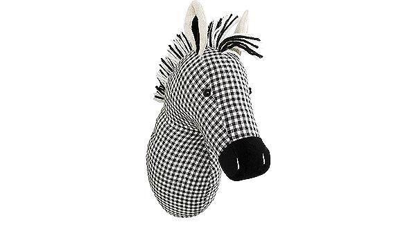 Needle Creations Zebra Fabric Wall Decor Kit-New