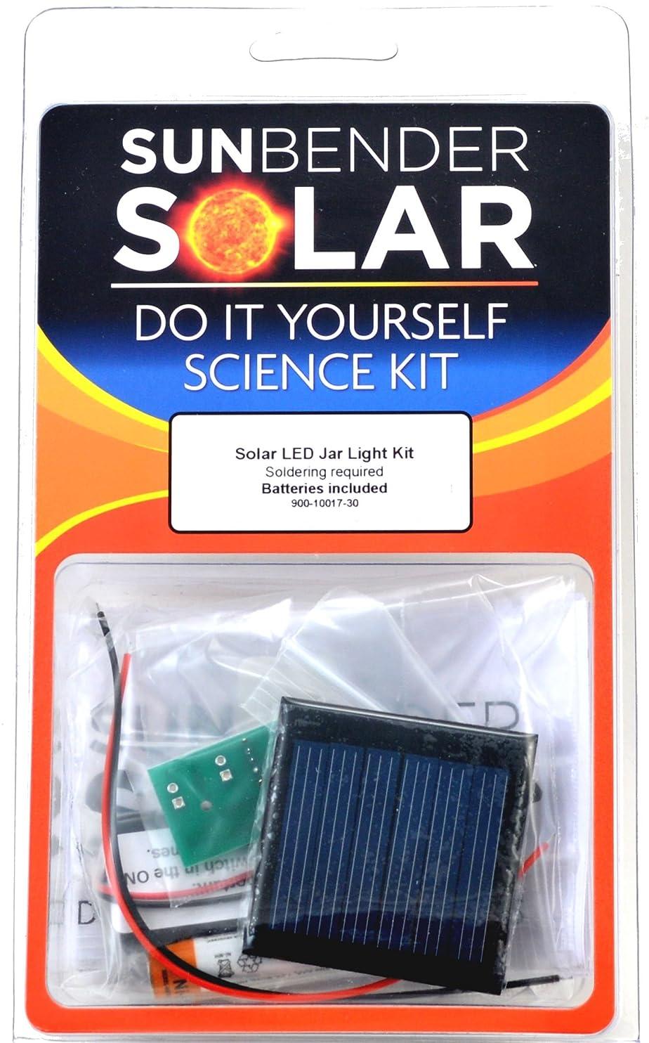 SunBender Do-it-Yourself Solar LED Jar Light Kit - White LED's - Soldering Required pgrefqgefly29