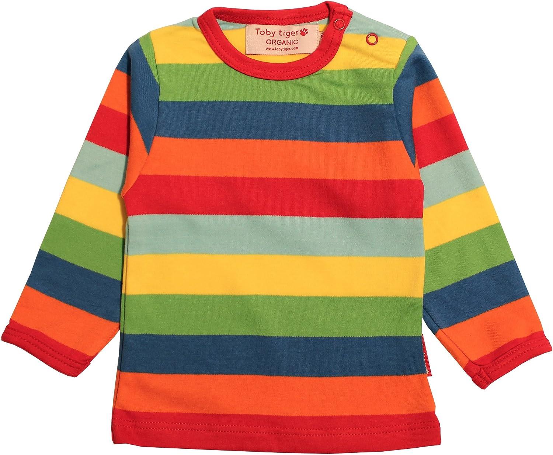 Toby Tiger Lsdmultst Camiseta, Multicolor, 1-2 años para ...
