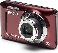 Kodak PIXPRO FZ53 cámara digital de 16Mp con zoom favorable, cámara digital con zoom óptico 5X y pantalla LCD de 2.7 pulgadas (negra)