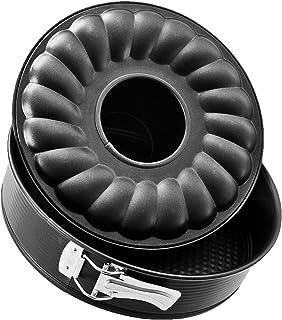 Zenker 3433 - Molde para bizcocho con Dos Base extraíble (
