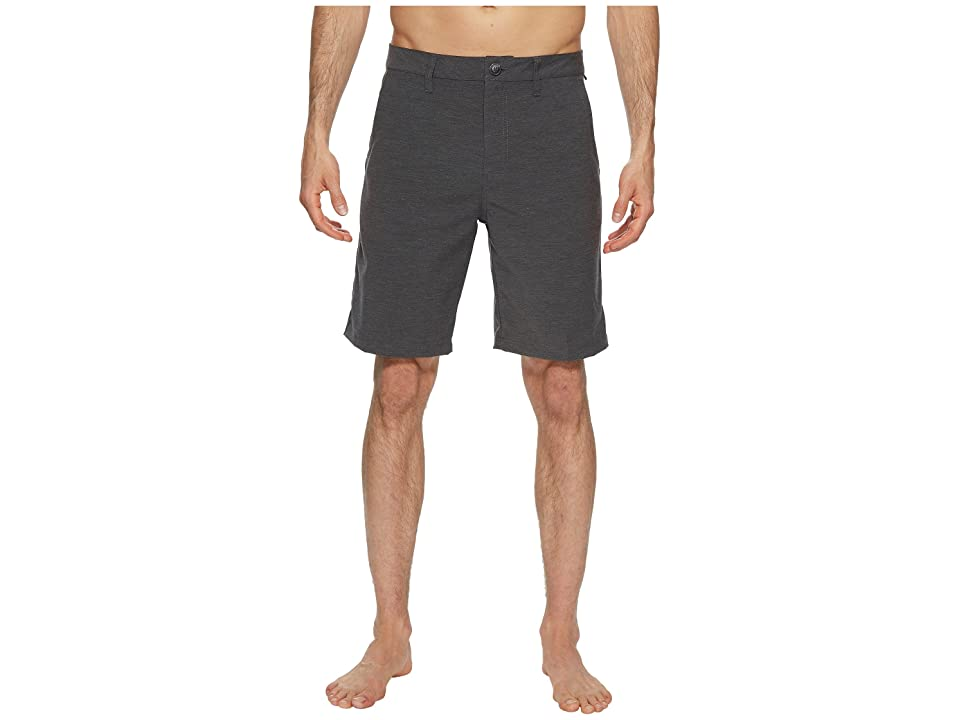 Vans Authentic Microplush Decksider Boardshorts (Asphalt) Men