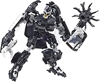 """TRANSFORMERS - 4.5"""" Barricade Action Figure - Saleen S-281 - Generations - Studio Series Deluxe Class - Takara Tomy - Kids Toys - Ages 8+"""