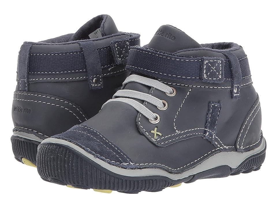 Stride Rite SRT Garrett (Toddler) (Navy) Boys Shoes