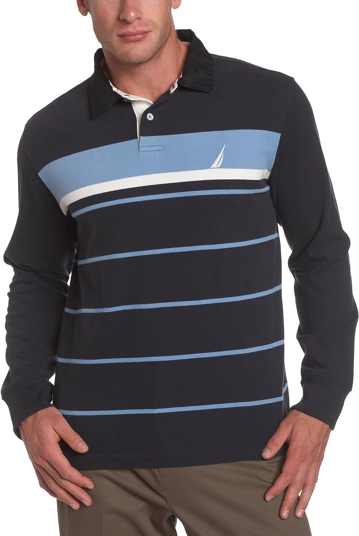 Nautica Men's Long Sleeve Polo