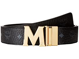 Claus Reversible Gold Buckle Belt