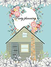Party planning: Happy plan, event planner 120 pages Large Print 8.5