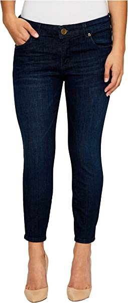KUT from the Kloth - Petite Brigitte Crop Skinny in Royalty