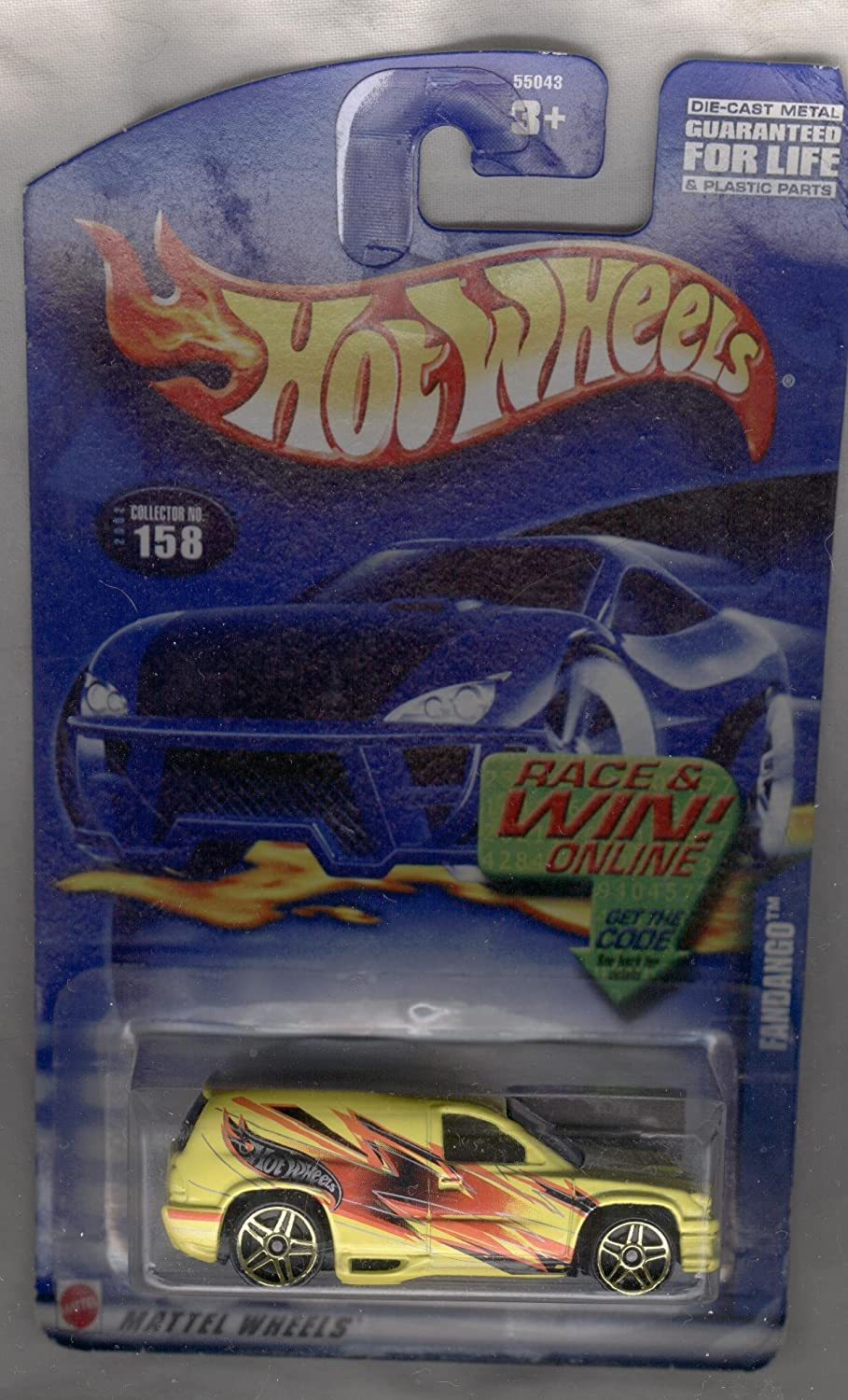 Hot Wheels 2002-158 Fandango 1 64 Scale