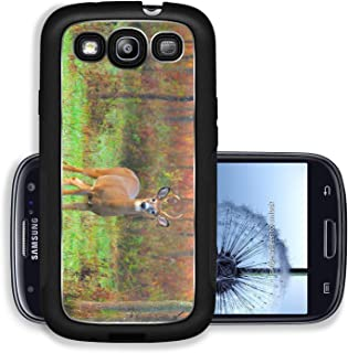 Liili Premium Samsung Galaxy S3 Aluminum Case Whitetail Deer Buck standing in a field Image ID 23017280