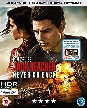 Jack Reacher: Never Go Back 4K UHD Digital Download 2016