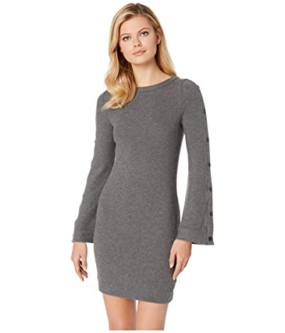 Three Dots Brushed Sweater Dress (Marengo) Women