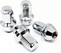 Set of 24 Veritek 14x2.0mm 13/16 Hex 2 Inch Chrome OEM Factory Style Large Acorn Seat Lug Nuts for Ford F-150 Expedition Lincoln Navigator Factory Wheels