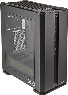 Zalman X3 Negro (RGB) - Caja sin alimentación (Formato ATX Mediano)