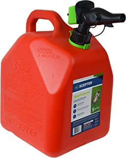 Scepter 5 Gallon Gas Can, FR1G501 with Spill Proof SmartControl Spout, Red